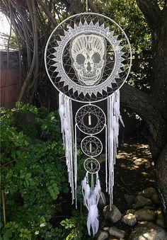 Skull Mandala Dream Catcher
