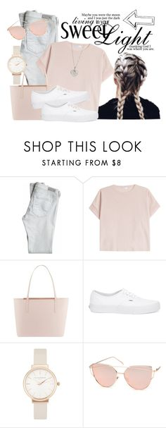 """""""#209 Sweet Light"""" by beautybluebear ❤ liked on Polyvore featuring AG Adriano Goldschmied, Brunello Cucinelli, Ted Baker, Vans, Olivia Burton, Chicnova Fashion and Finn"""
