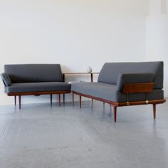 Minerva sofa set by Peter Hvidt & Orla Mølgaard Nielsen for sale at Deconet