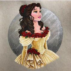 Disney Love Art Beautiful Drawings The Beast 68 Trendy Ideas Bella Disney, Disney Amor, Disney Fan Art, Disney Girls, Disney Love, Disney Magic, Disney Princess Fashion, Disney Princess Art, Belle Disney Princesses