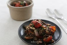 Grilled peppers, chorizo ​​+ Quinoa Salsa Salad  ///  Gegrillde paprika, chorizo + Quinoa Salsa salade- by for the love of taste  http://wp.me/p3aCoi-yk