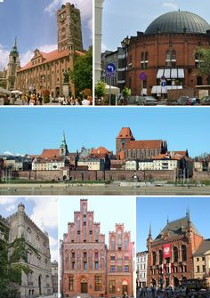 I want to go here: Collage_of_Torun. Travel Around The World, Around The Worlds, Krakow, Beautiful Places, Louvre, Europe, Mansions, House Styles, Building