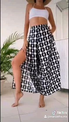 Indian Fashion Dresses, Boho Fashion, Womens Fashion, Summer Outfits, Casual Outfits, Skirt Outfits, Casual Chic, Women Wear, Trousers
