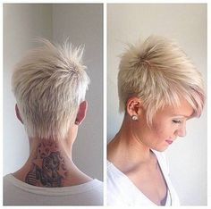 White People Short Haircuts - Best Short Hair Styles