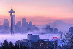 Foggy Seattle Day