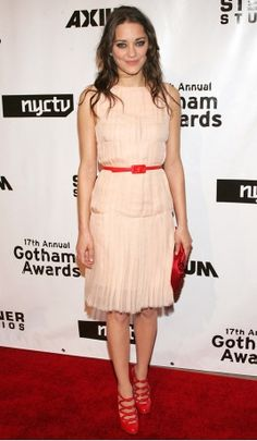 #MarionCotillard tra le migliori sui #RedCarpet di sempre.  Qui in #Chanel al Gotham Awards, 2007