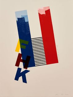 FHK Henrion print by Alan Kitching | The Monotype Shop