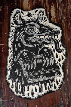 deerjerk:  Printing Monster. 2013