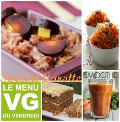 MENU VG spécial Carotte ! C'est bon, c'est sain, peu coûteux et ça peut même rendre aimable :p  #carotte #vegan #menu #menuvg #ideesrepas #végétalien 24 Avril, C'est Bon, Aimable, Breakfast, Vegan, Food, Friday, Carrot, Healthy