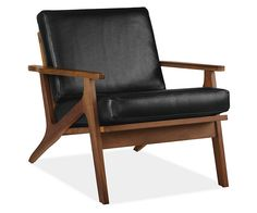 Sanna Leather Chair | Room & Board
