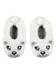 Shop Polar Bear Cozy Slippers and other trendy girls slippers shoes at Justice. Find the cutest girls shoes to make a statement today.