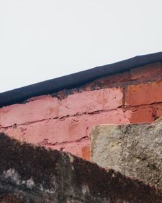 pink patch of wall