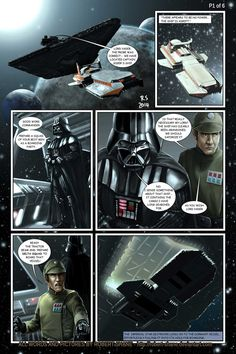 Star Wars vs Aliens - short story - page 1 of 6 by Robert-Shane on deviantART