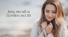 Žena, pro níž se člověku chce žít   Adaline.cz Motto, Sneaker, Vans, Happy, Crafts, Diy, Women, Slippers, Manualidades