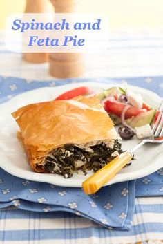 Vegetarian recipes: Spinach and Feta Pie