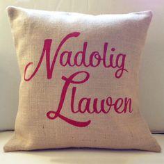 Cushion - Nadolig Llawen - Merry Christmas!