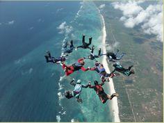 1. Go sky diving