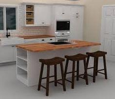 Image result for kitchen island dishwasher