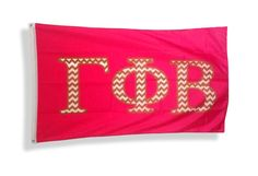 Gamma Phi Beta Chevron Flag from GreekGear.com
