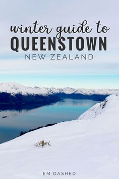 There's something magical about a ski season in Queenstown, New Zealand. Click through for a former resident's tips and suggestions for the best Queenstown winter activities. | #Queenstown #NewZealand | Photo by Scott Greer New Zealand Accès Notre Blog trouver beaucoup plus d'informations https://storelatina.com/newzealand/travelling #novelyzelandy #weightloss