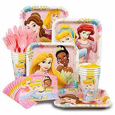 Disney Princess Party Decorations | Disney Princess Birthday Party Decorations, Supplies and Ideas