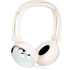 Pale Pink Plated Headphones found on Polyvore featuring polyvore, fashion, accessories and watermelon