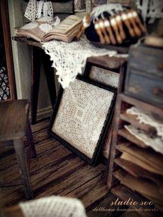 Studio Soo - detail of lace room