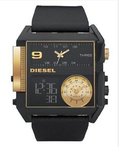 Diesel Watch: Multi Movement Ryan LOVES Diesel watches and would love this one. Diesel Watches For Men, Best Watches For Men, Luxury Watches For Men, Cool Watches, Black Watches, Fancy Watches, Men's Watches, Cartier, Ramses