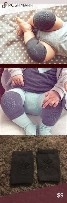 Baby knee pads Your baby started crawling?...make sure you protect that little one with the cute styling knee pads!! Never used, too tight for my baby (not in original packaging) Accessories