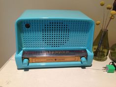 1949 General Electric Bluetooth Tube Radio / Auto by BoxTrader