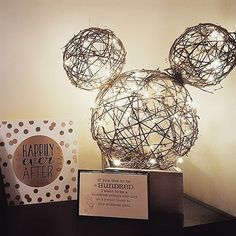 "8,246 Likes, 140 Comments - Disney At Home (@disney_at_home) on Instagram: ""Another inspiring #DisneyDIY from one of our friends! Tying some ball decorations together and…"""