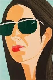 From Barnett Fine Art , Alex Katz, Ada With Sunglasses Silkscreen, 36 × 24 in Alex Katz, New York School, Figure Painting, American Artists, Abstract Expressionism, Screen Printing, Pop Art, Illustration Art, Artsy