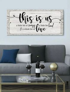 43 wonderful home interior with on a budget farmhouse wall decor 8 Family Wall Decor, Living Room Decor, Family Wall Quotes, Bedroom Wall Quotes, Living Room Walls, Dinning Room Wall Decor, Bedroom Signs, Family Room Decorating, Family Signs