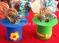 Resultado de imagem para doces patati patata Carnival Birthday, Baby Birthday, First Birthday Parties, First Birthdays, Carnival Crafts, Carnival Themes, Circus Theme, Circus Party Centerpieces, Kids Centerpieces