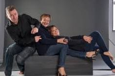 My family. Henrik Silas, Sandie and Zitta