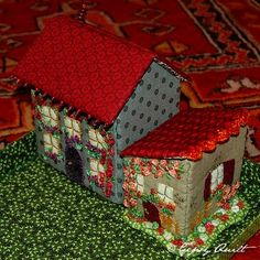 I love little fabric houses