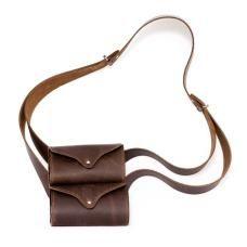 Madame Changéable double pouch cross body bag