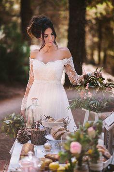 Perfect Wedding Ideas y un bucólico shooting.
