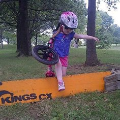 This is far too cute!!! I need to get my neice & nephews into cycling.