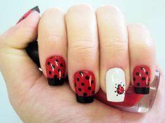 Ownnn que fofa essa nail art!!! Tudo para suas unhas em: www.lojadeesmaltes.com.br