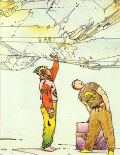 Remember when I posted Moebius previously on Feedbag here , and I had trouble finding good links? Jean Giraud, Moebius Comics, Moebius Art, Frank Margerin, Manado, Science Fiction, Ligne Claire, Comic Artist, Westerns