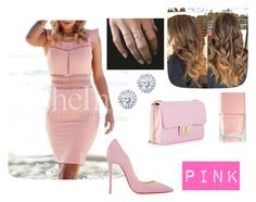 """Pink "" by ariana-kurti ❤ liked on Polyvore"