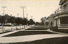 fort worth, tx.- looking south on 8th ave. at pennsylvania in 1913