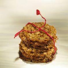 Kaura-mariminttukeksit Something Sweet, Meatloaf, Cupcakes, Sweets, Bread, Cookies, Baking, Breakfast, Desserts