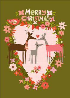 ecojot HOLIDAY :: NEW! Merry Christmas Deer - Ecojot - eco savvy paper products