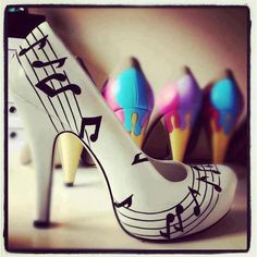 Fun! But even I don't think I'd ever rock these ;)  I'd put them on display in my house :P