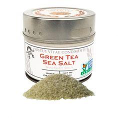 Green Tea Sea Salt by Gustus Vitae on Gourmly