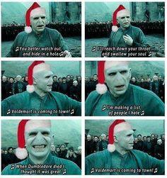 Xmas Voldemort