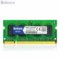 Reboto New Sealed Sodimm DDR2 1GB/2GB 667Mhz/ PC5300S 800MhzPC6400S   for Laptop RAM Memory / Lifetime warranty