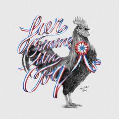 Typeverything.com  Fier Comme Un Coq by Ugo Gattoni + Tyrsa.
